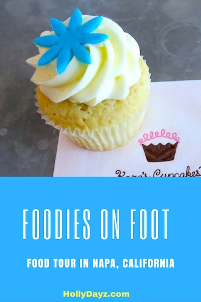 OODIES ON FOOT FOOD TOUR IN NAPA, CALIFORNIA © hollydayz