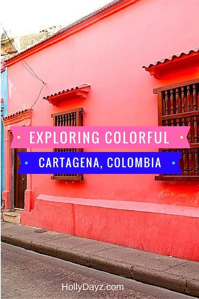 exploring color cartagena, colombia