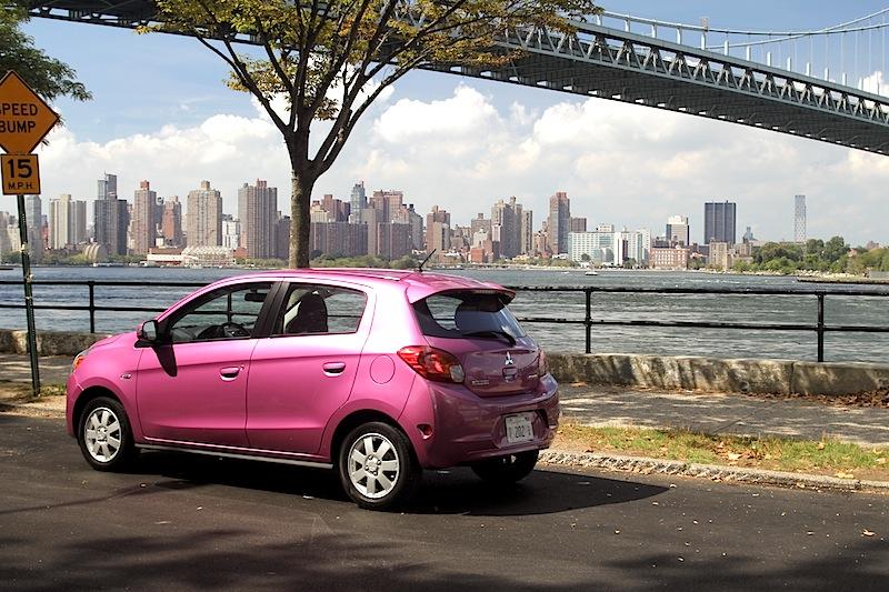 Little Car, Big City in the Mitsubishi, Mirage