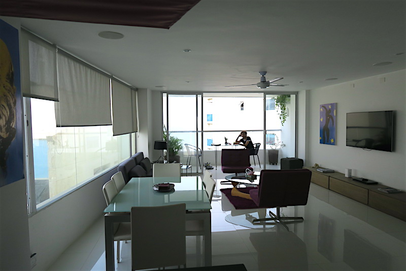 Penthouse-Living-in Cartagena Colombia ©HollyDayz