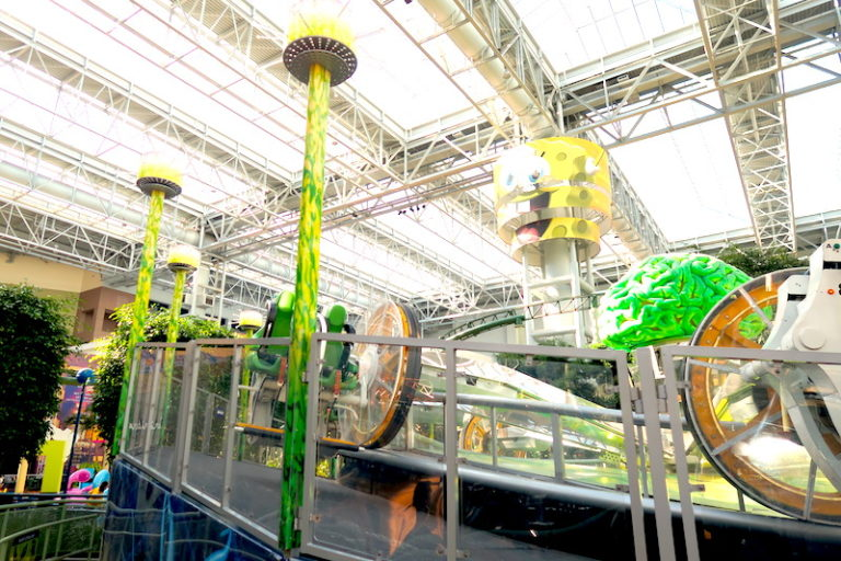A Day at Nickelodeon Universe © HollyDayz