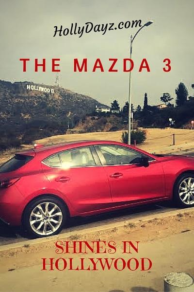 The-Mazda-3 shines in hollywood © hollydayz