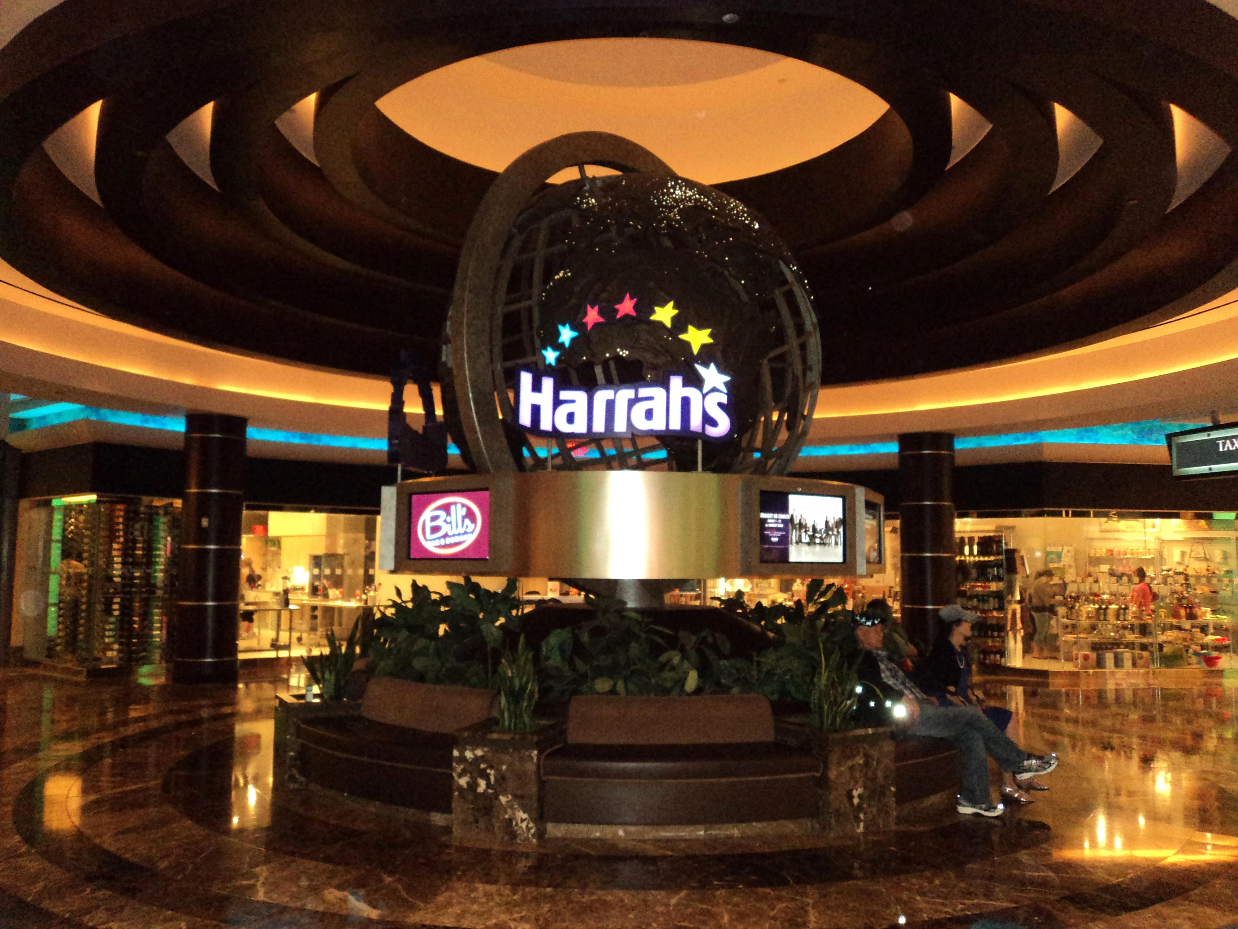 Staying at Harrah's Resort in Atlantic City, NJ