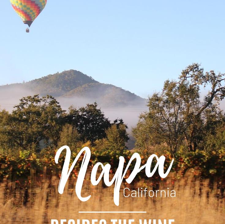 napa besides the wine