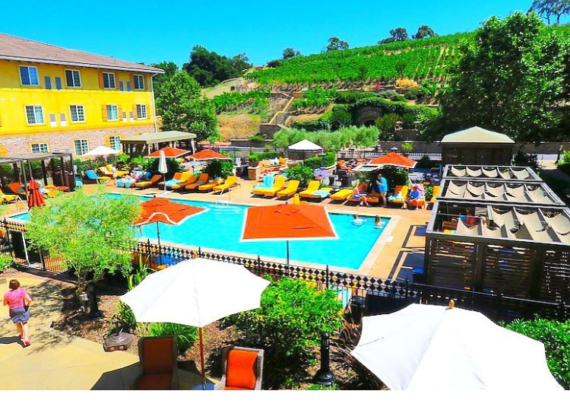 THE MERITAGE RESORT & SPA IN NAPA, CALIFORNIA © hollydayz