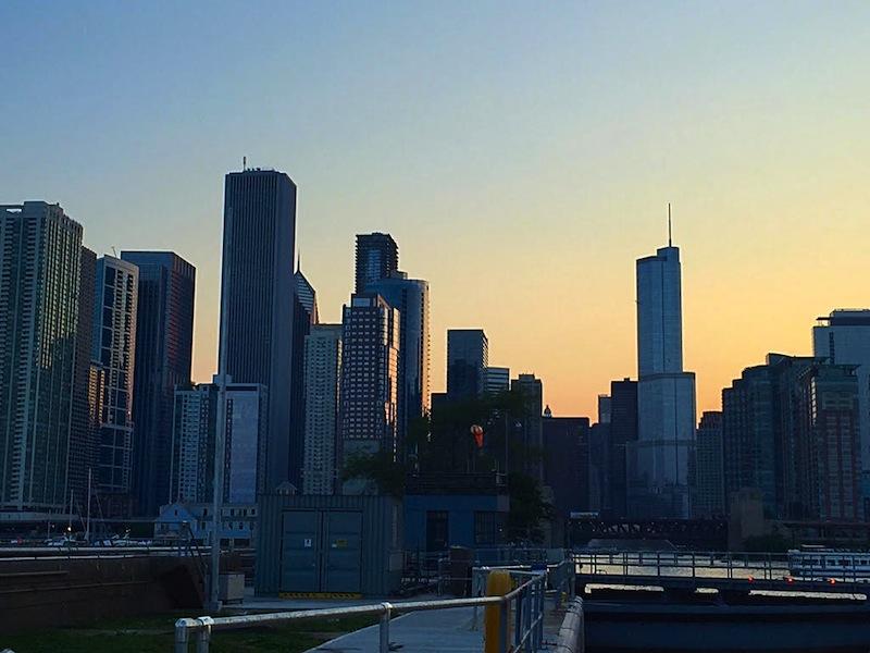 WendellaBoats sunset cruise in chicago ©hollydayz