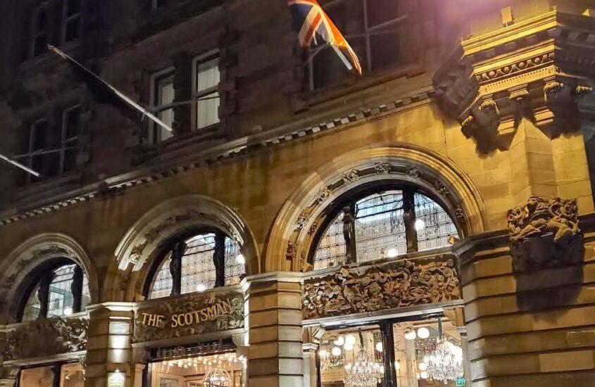 The Scotsman Hotel in Edinburgh, Scotland