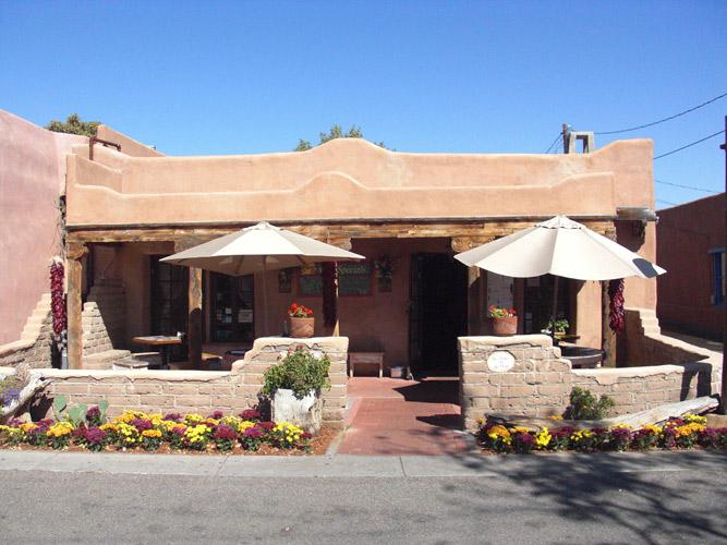 Church Street Cafe in Albuquerque, New Mexico