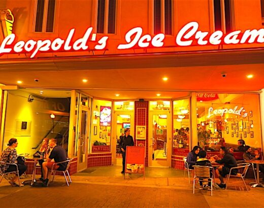 leopolds ice cream in savannah, ga ©hollydayz
