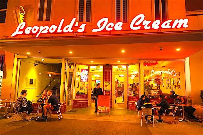 Leopold's Ice Cream in Savannah, Georgia
