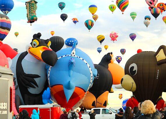 albuquerque-International balloon fiesta ©hollydayz