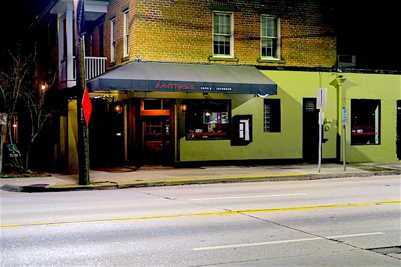 B. Matthew's Eatery in Savannah, Georgia