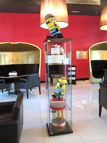 AFTERNOON TEA AT THE CHOCOLATE GALLERY IN ABU DHABI ©hollydayz