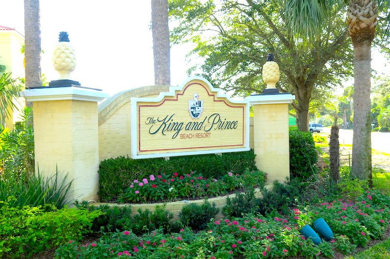 The King and Prince Beach & Golf Resort on St. Simons Island, GA