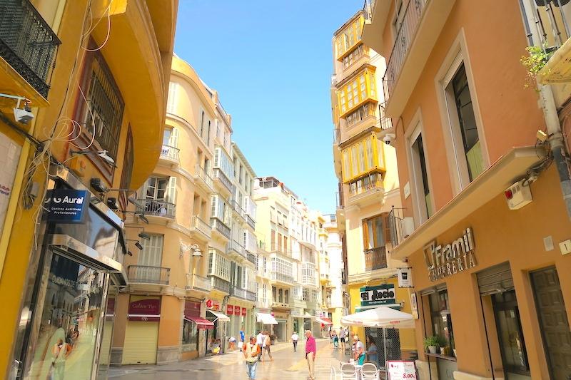 City Center Apartment in Malaga, Spain