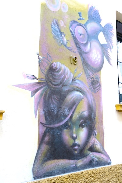 DISCOVERING STREET ART IN MALAGA ©hollydayz