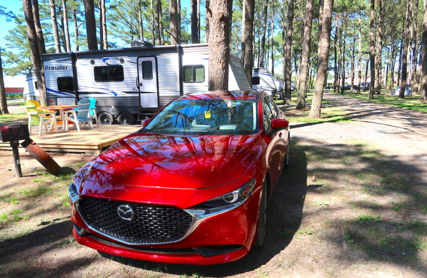 Road-trip to Chincoteague Island, VA in the Mazda3 Sedan