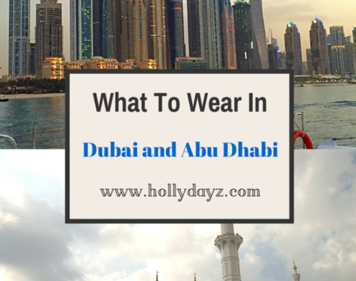 what to wear in dubai and abu dhabi © hollydayz