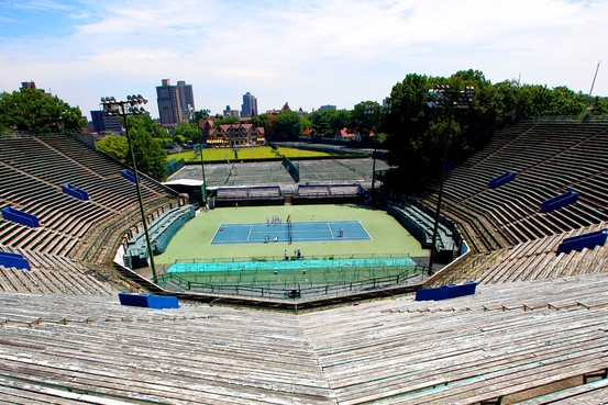 An Old Venue Revived: Forest Hills Stadium