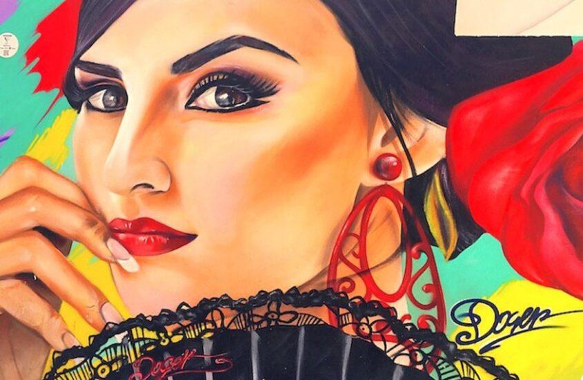 Discovering Street Art in Malaga, Spain