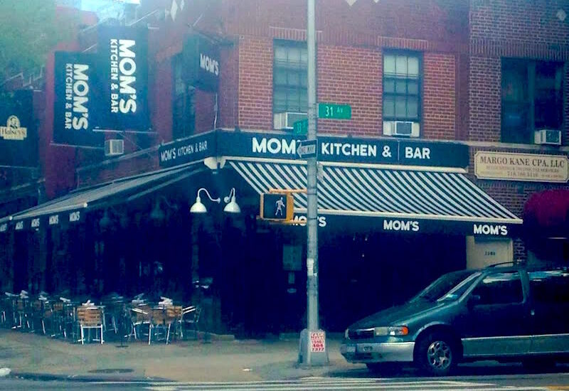 Mom's Kitchen and Bar in Astoria, New York
