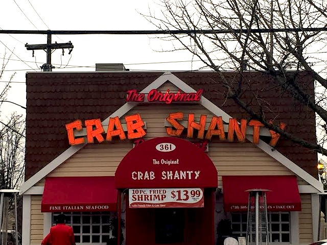 The Original Crab Shanty on City Island, NY