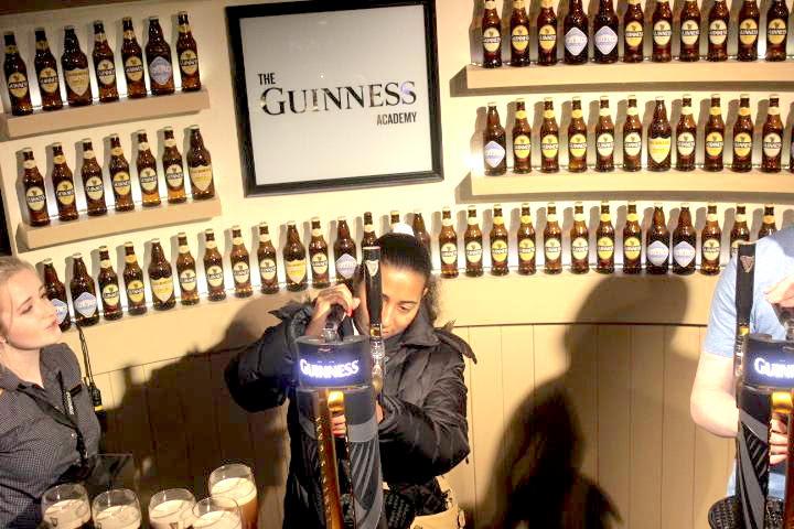 Visiting the Guinness storehouse dublin, ireland © HollyDayz