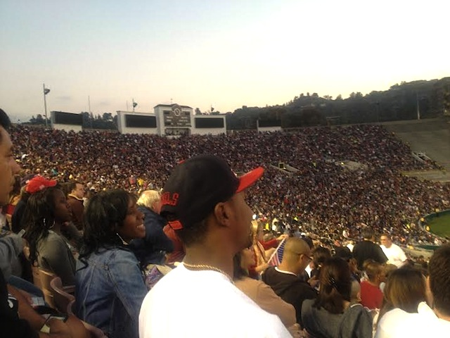 4th of july at the rosebowl
