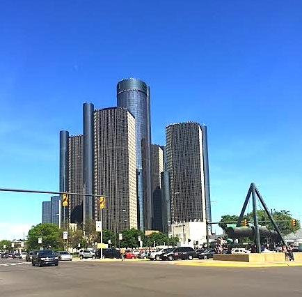 A Day In Downtown Detroit, Michigan