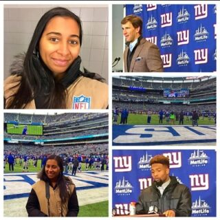 #FBF I've been covering professional sports for years. Running up and down fields, media days, boxing rings,courtside,locker rooms etc.   Here is a small photo dump of just a handful of the many things I've done.   #sports #nygiants #nyjets #mayweather #canelo #brooklynnets #newyorkknicks #horseracing #productionlife #onthefield #mediaday #media #funtimes #basketball #football #horseracing #boxing #pauliemalignaggi #makingmoves